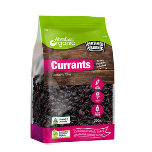 Currants 250g - Absolute Organic