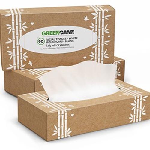 Tissues Box of 90 Sheets - Greencane