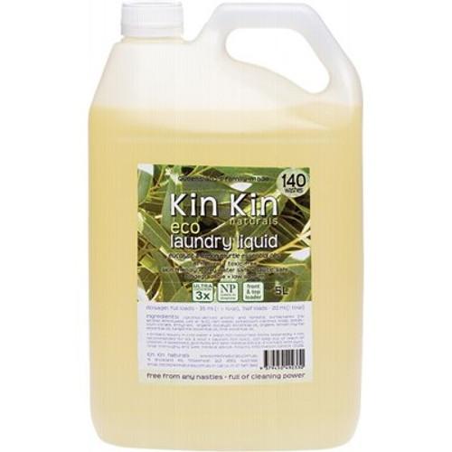 Laundry Liquid Eucalypt & Lemon Myrtle 5L- Kin Kin