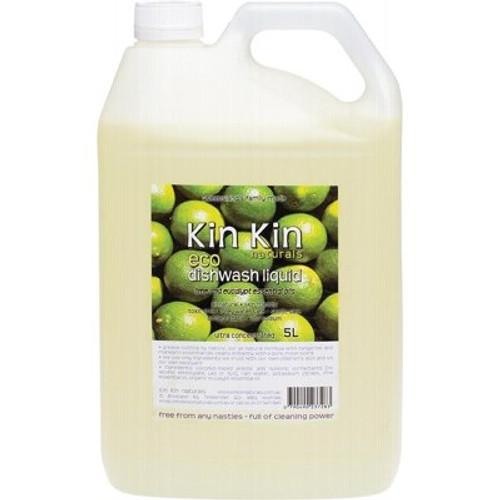 Dish Liquid Lime Eucalyptus 5L - Kin Kin