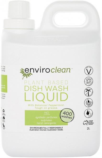 Dish Liquid Peppermint 2L - Enviroclean