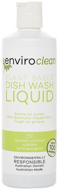 Dish Liquid Peppermint 500ml - Enviroclean