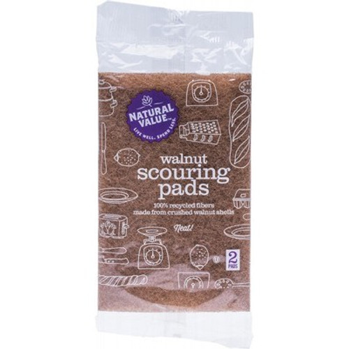 Scouring Pads Walnut - Natural Value