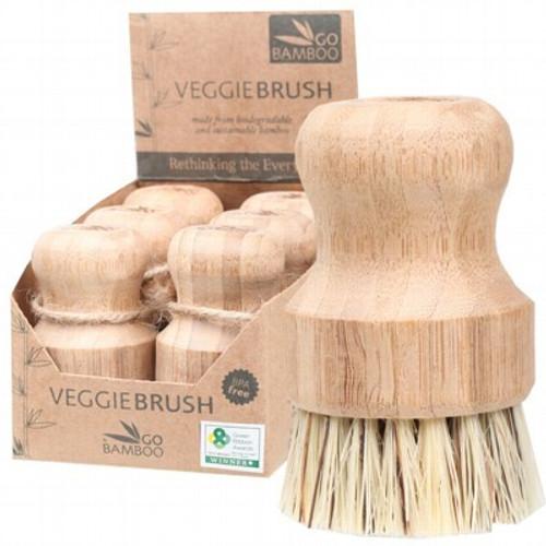 Veggie Brush Eco Coconut - Go Bamboo