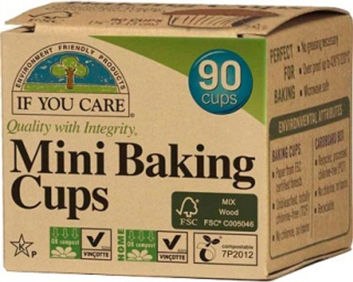 Baking Cups Mini 90 Cups- If You Care