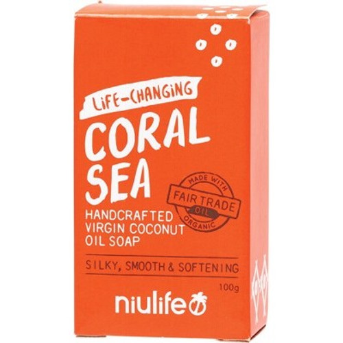 Soap Bar Coconut Oil Coral Sea - Niulife