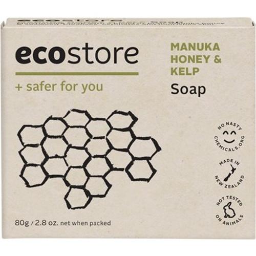 Soap Bar Manuka Honey & Kelp 80g - Ecostore