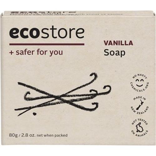 Soap Bar Vanilla 80g - Ecostore