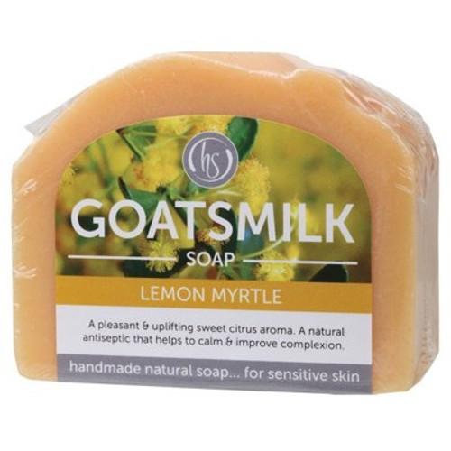 Soap Bar Goat's Milk Lemon Myrtle 140g - Harmony Soapworks
