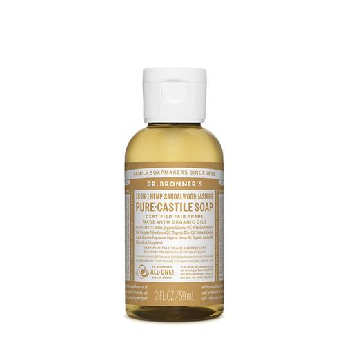 Sandalwood Jasmine Pure Castile Hemp Soap 59ml - Dr Bronner