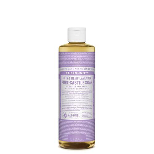 Lavender Pure Castile Hemp Soap 473ml - Dr Bronner