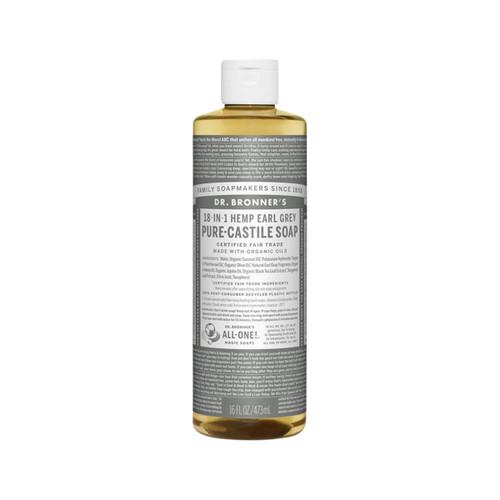 Earl Grey Pure Castile Hemp Soap473ml - Dr Bronner