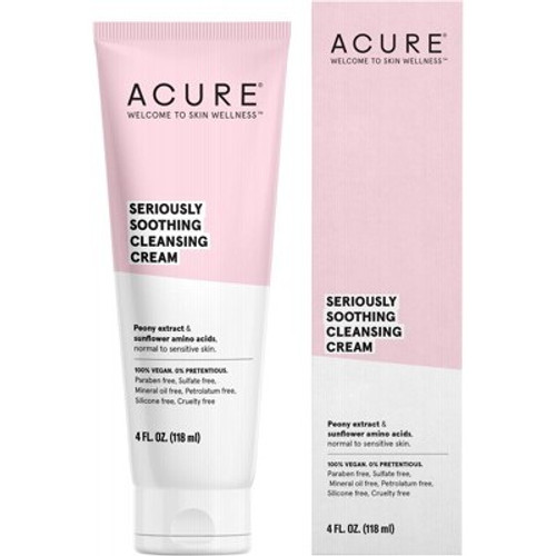 Cleansing Cream Seriously Soothing 118ml - Acure