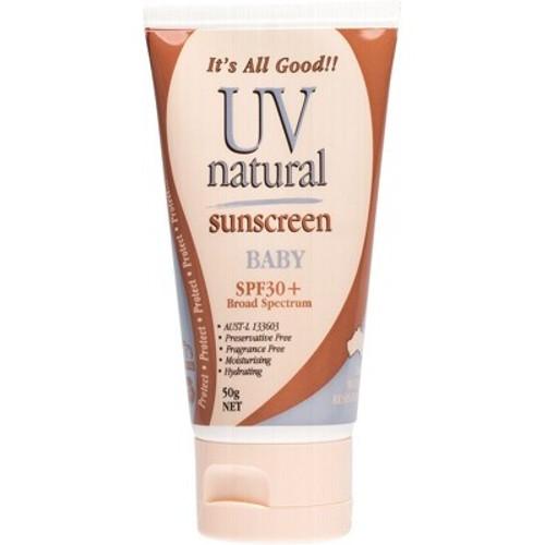 Sunscreen Baby SPF 30+ 100ml - UV Natural