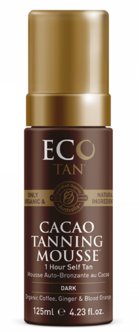 Cacao Tanning Mousse Dark 125ml - Eco Tan