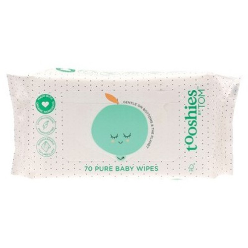 Baby Wipes 70 Wipes - Tooshies by Tom