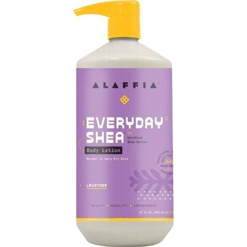 Body Lotion Everyday Shea Lavender 950ml - Alaffia