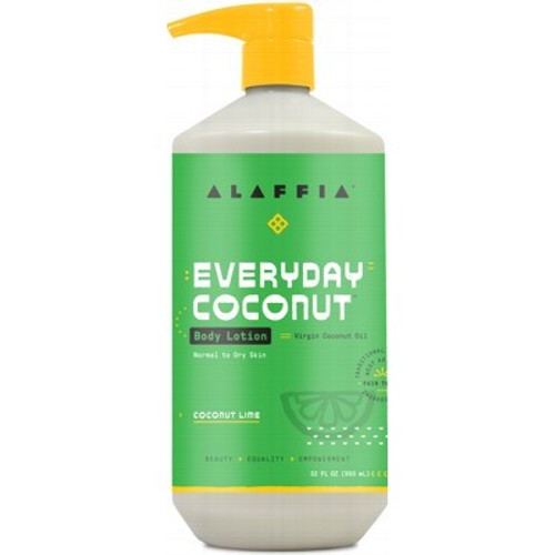 Body Lotion Everyday Coconut Coconut Lime 950ml - Alaffia