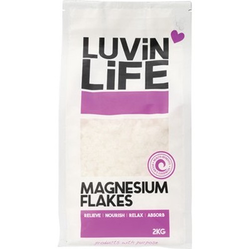 Magnesium Chloride Flakes 2kg - Luvin Life