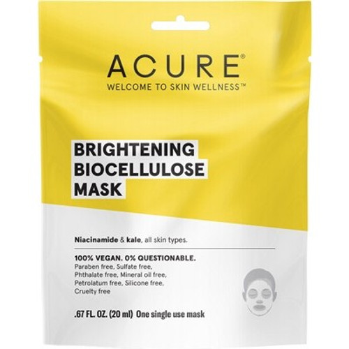 Face Sheet Mask Brightening Biocellulose 20ml - Acure