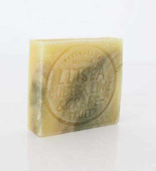 Soap Bar Litsea Cubeca, Lime Grapefruit & Clay 110g - Corrynne's Natural Skincare
