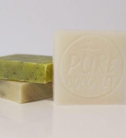 Soap Bar Pure Coconut Oil 110g - Corrynne's Natural Skincare