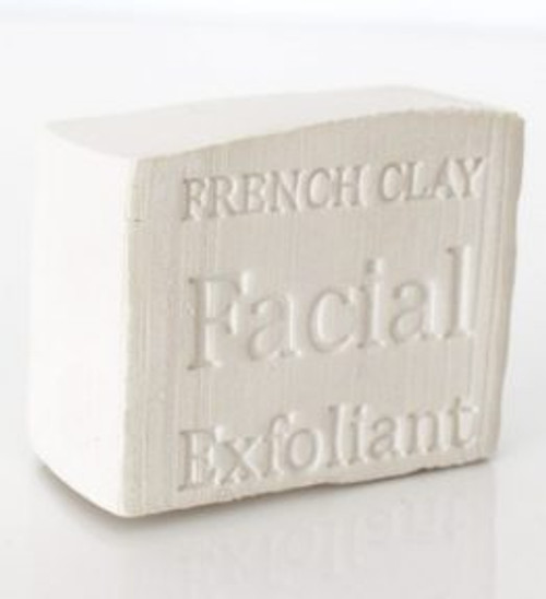Face Clay Block White 100g - Corrynne's Natural Skincare