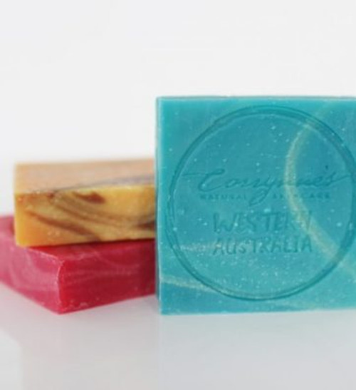 Soap Bar Pine, Spearmint, Lime & Eucalyptus 110g - Corrynne's Natural Skincare
