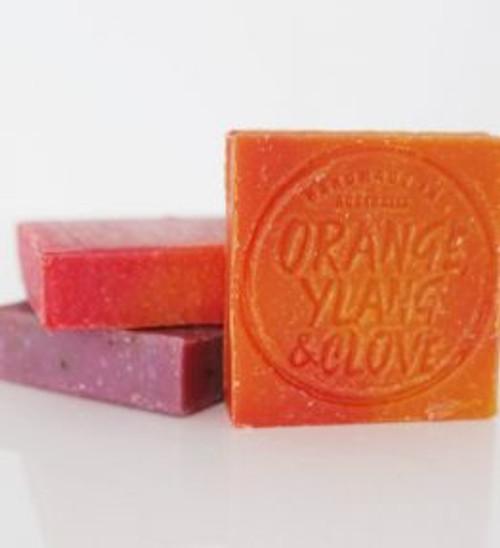 Soap Bar Orange, Ylan Ylan, Mandarin & Clove 110g - Corrynne's Natural Skincare