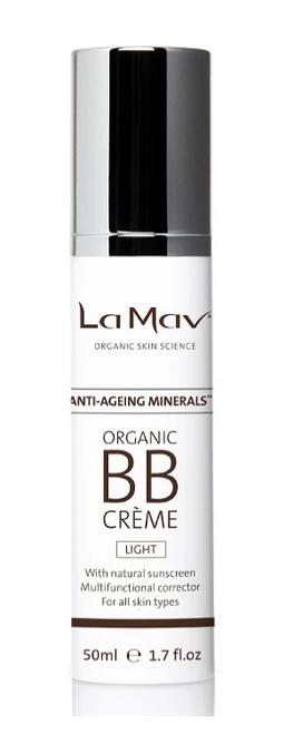 BB Creme Light Organic 50ml - La Mav