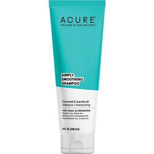 Coconut & Marula Simply Smoothing Shampoo 236.5ml - Acure