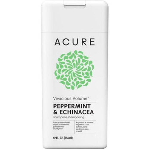 Peppermint & Echinacea Volume Shampoo 354ml - Acure