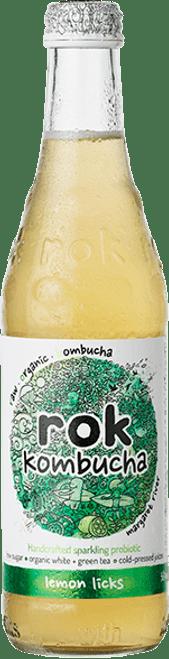 Lemon Licks Kombucha 365ml - Rok