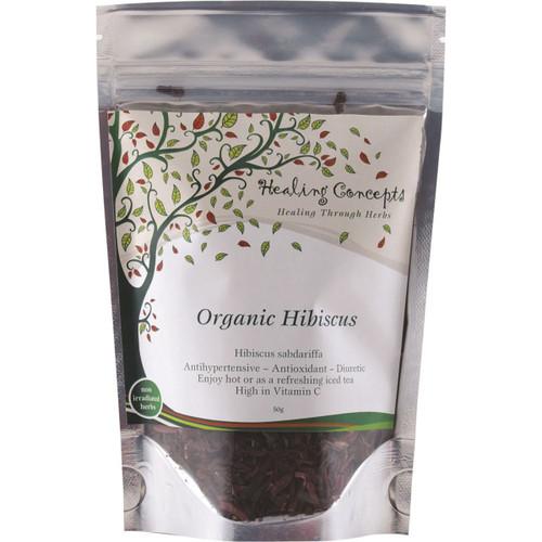 Hibiscus Tea 50g - Healing Concepts