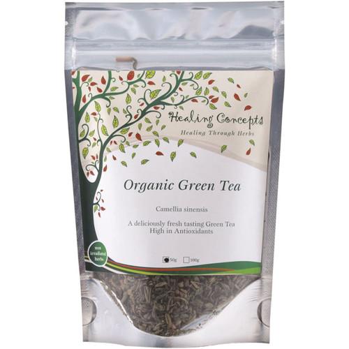 Green Tea Loose Leaf Organic 50g - Healing Concepts