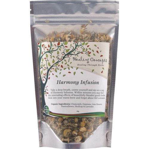 Harmony Infusion Organic Loose Leaf 40g - Healing Concepts