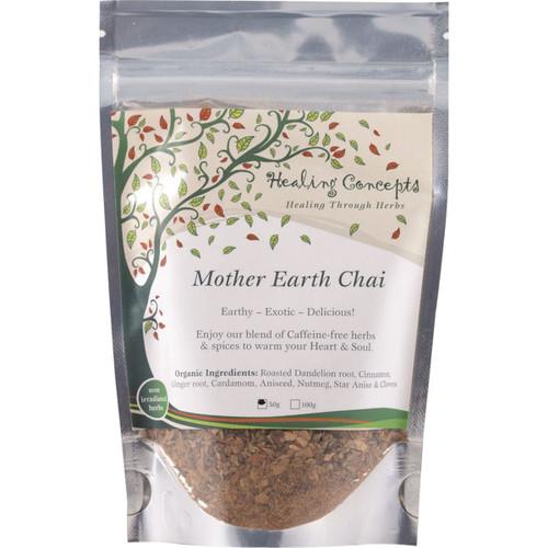 Mother Earth Chai Organic Caffeine Free 50g - Healing Concepts