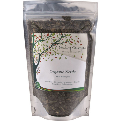 Nettle Loose Leaf Organic 50g - Healing Concepts