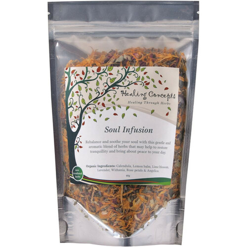 Soul Infusion Organic Loose Leaf 40g - Healing Concepts