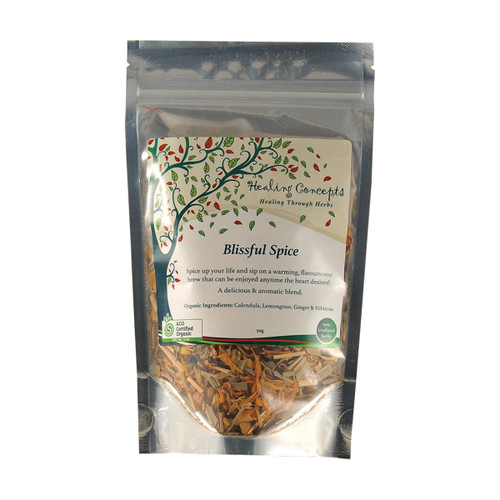 Blissful Spice Tea Loose Leaf Organic 50g - Healing Concepts