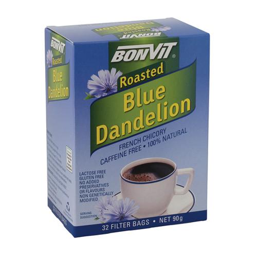 Dandelion Blue French Chicory Roasted 32 Bags - Bonvit