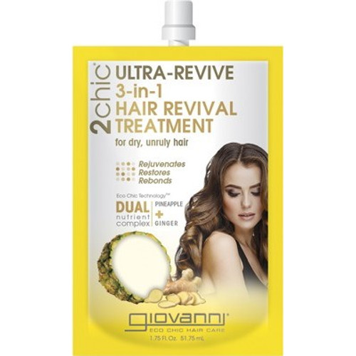 Treatment 3 in 1 Ultra-Revive (dry/unruly) 51ml - Giovanni