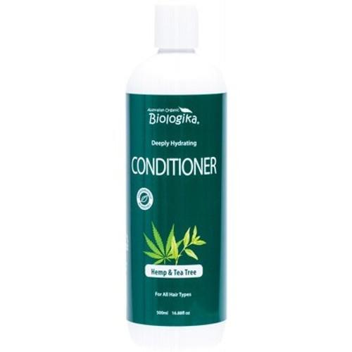 Hemp & Tea Tree Conditioner (All hair types) 500ml - Biologika