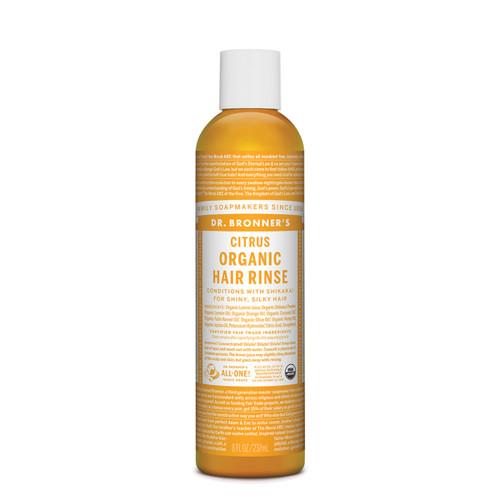 Hair Rinse Citrus Organic 237ml  - Dr Bronner