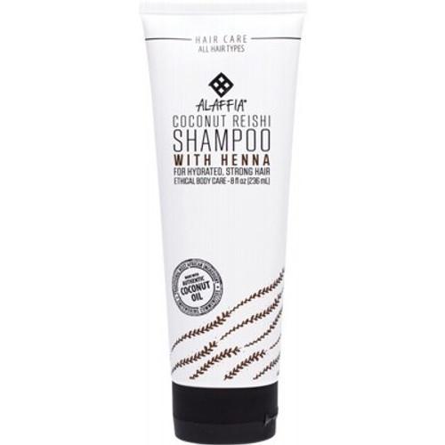 Coconut Reishi Shampoo with Henna 236ml - Alaffia