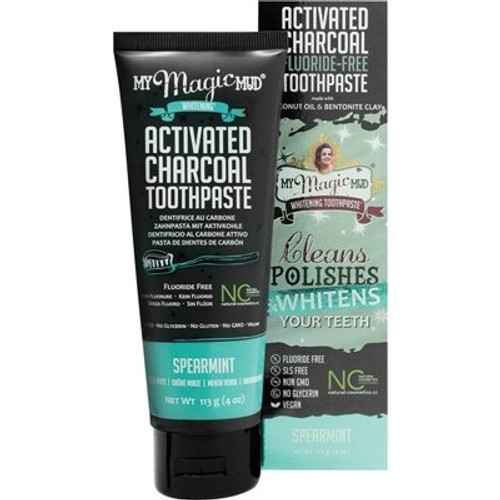 Toothpaste Whitening Spearmint 113g - My Magic Mud