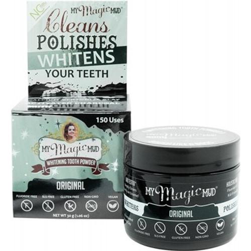 Tooth Powder Whitening Flavourless 30g - My Magic Mud