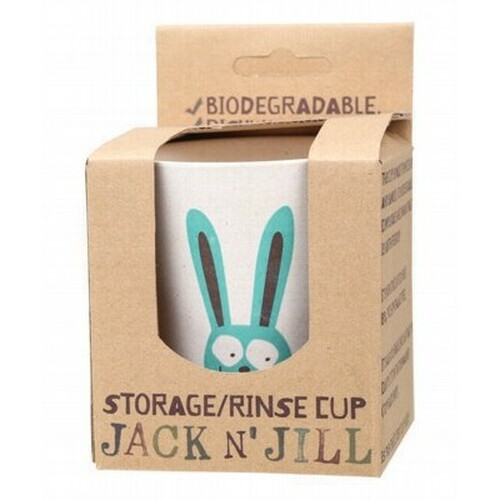 Storage/Rinse Cup Bunny Biodegradable - Jack N' Jill