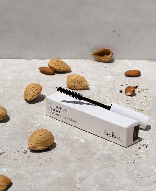Mascara Natural Almond Black 10ml - Ere Perez
