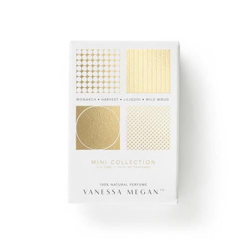 Perfume Mini Collection 100% Natural 4 x 10ml - Vanessa Megan